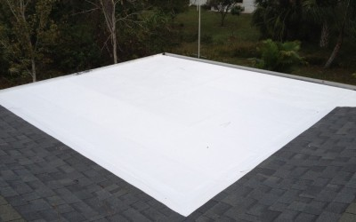 Residential TPO Flat Roof Tampa Florida