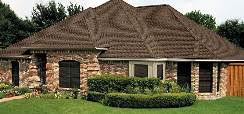 GAF Timberline HD Barkwood House Single