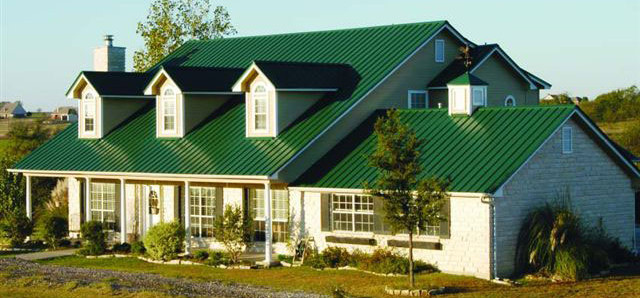 Great Green Metal Roof Tampa Florida