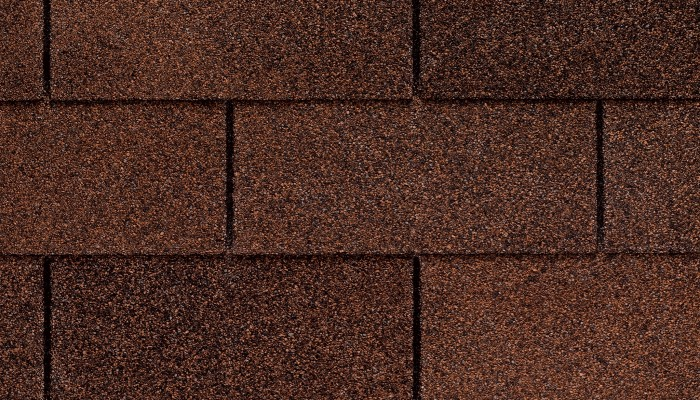 Royal Sovereign - Autumn Brown 3-tab shingle