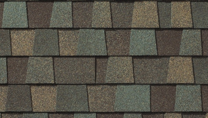 GAF Timberline American Harvest Cedar Falls shingle