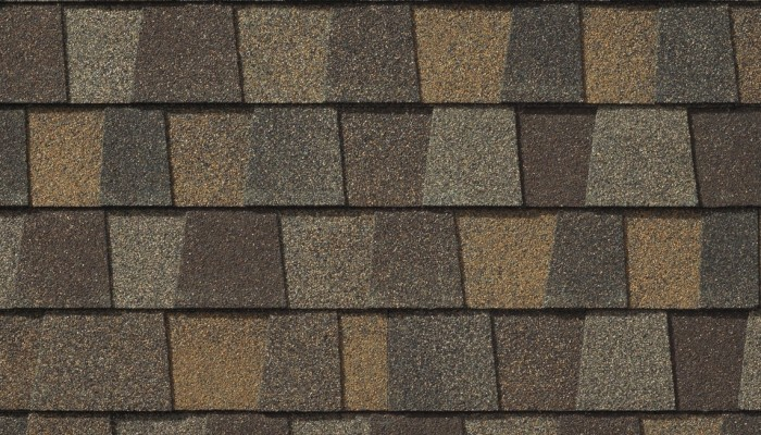 GAF Timberline American Harvest Saddlewood Ranch shingle
