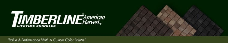 GAF Timberline American Harvest Shingle