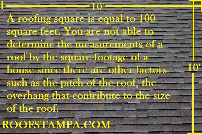 How to measure a roofing square what is a roof square