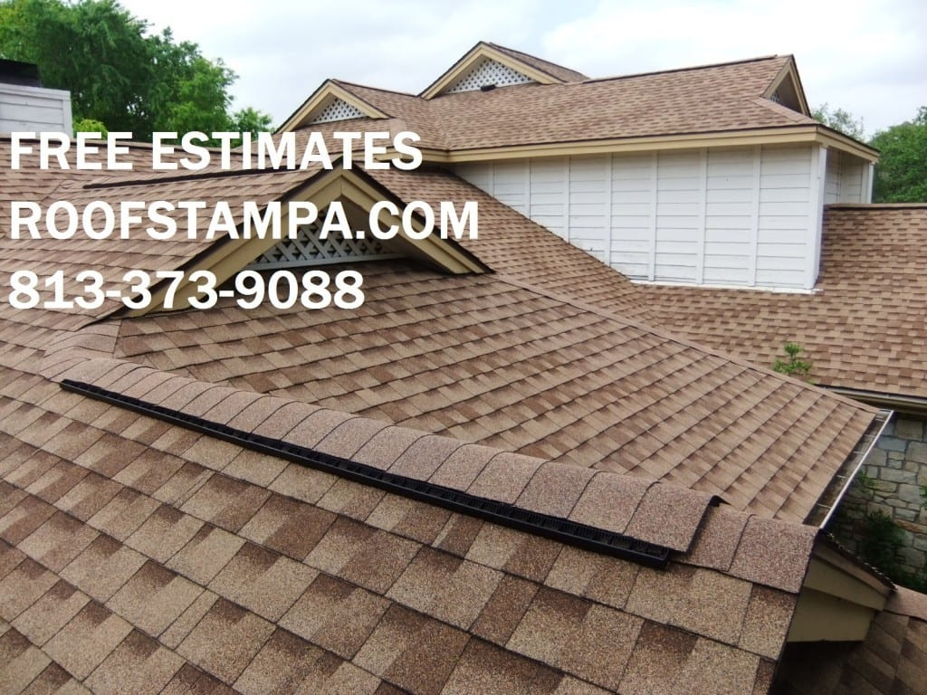 Perfect Dimensional Shingle Roof Tampa