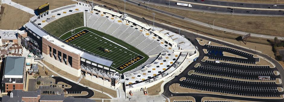 Alabama State University Stadium Roof