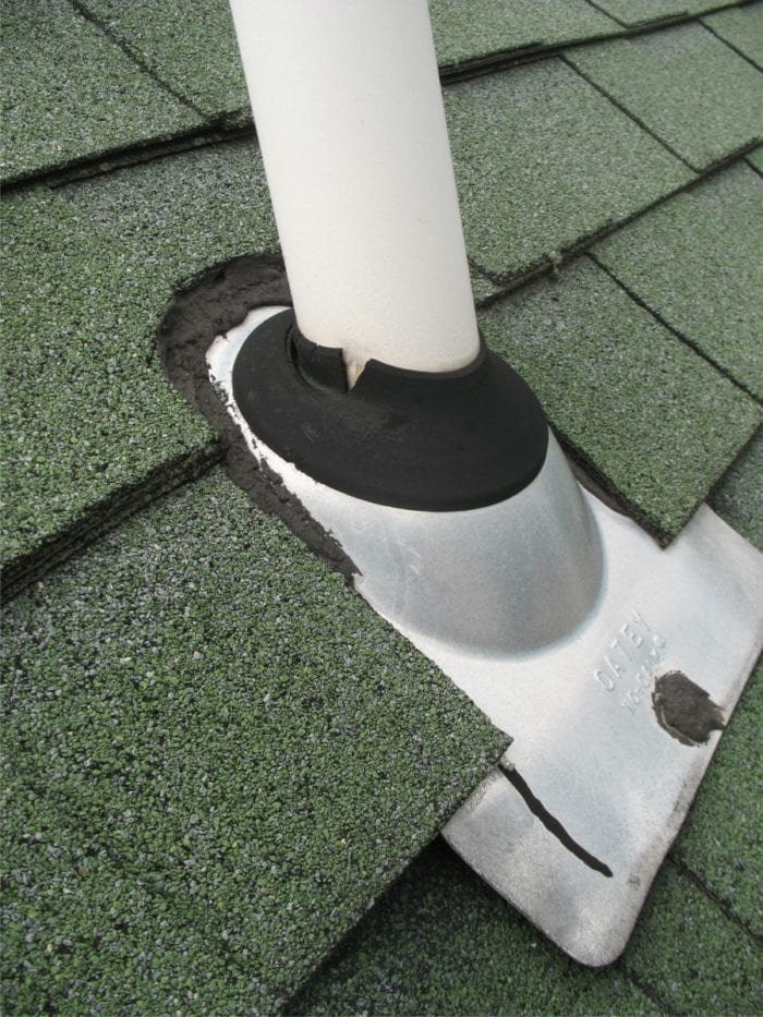 Rubber Flange Roof Vent Flashing