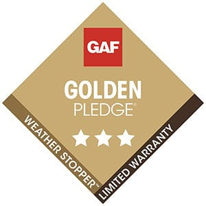 GAF Golden Pledge Warranty Tampa FL