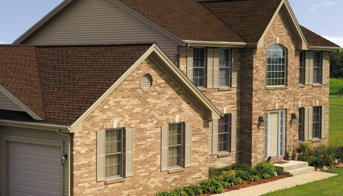 GAF Timberline Natural Shadow Hickory House