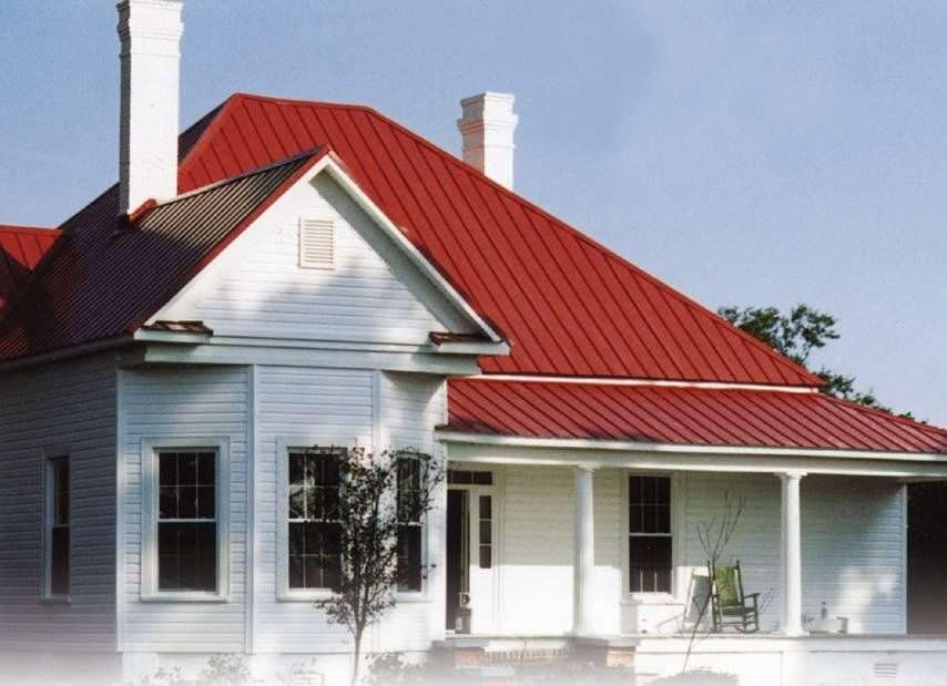 Types Of Metal Roof Panels Roofing Company Tampa Fl